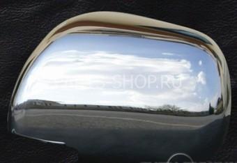 Накладки на зеркала из нерж. Camry 06-08