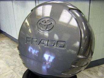 Футляр запасного колеса на LC150 (серебро, графит, черный)