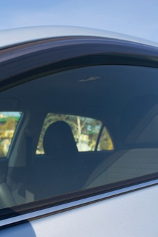 Молдинги на стекла дверей Corolla хром (комплект 4 части)