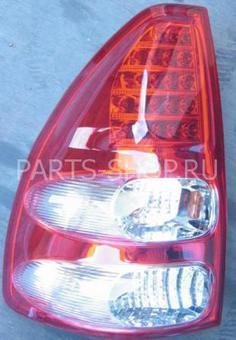 Фонари задние LC120 красно-хромированные светодиодные