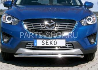 Защита переднего бампера трубообразная Mazda CX-5