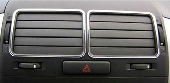 Хромированные накладки вентиляторов Suzuki Grand Vitara