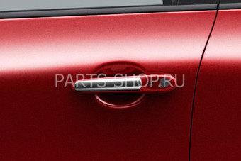 Накладки на ручки дверей хром Nissan Juke