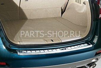 Накладка на задний бампер Nissan Murano 2009-