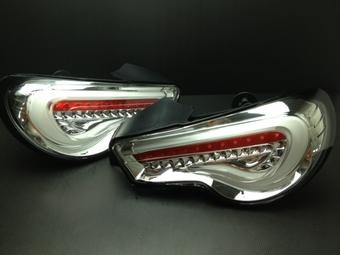 Задние фонари хромированные для GT86