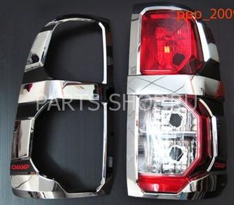 Накладки на задние фонари Hilux 2012