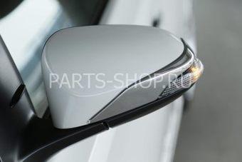 Хромированные накладки на зеркала  Toyota Corolla 2013-