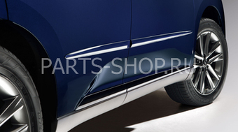Молдинги боковые на двери RX270-450h (поставляются в цвет авто)