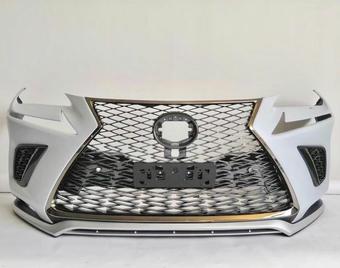 Бампер передний F-sport lexus NX решетка+губа