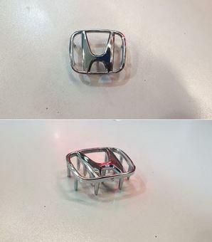 Эмблема на руль Honda