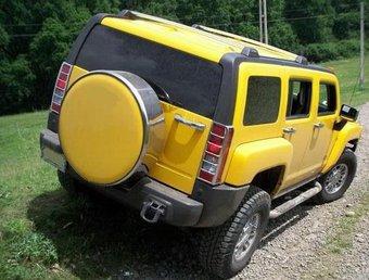 Колпак запасного колеса для hummer h3 из нерж.