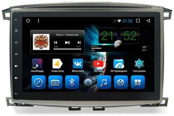 Головное устройство Toyota Land Cruiser 100 на OS Android