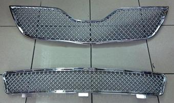 Решетка радиатора и переднего бампера Camry40 дизайн Bentley 09-