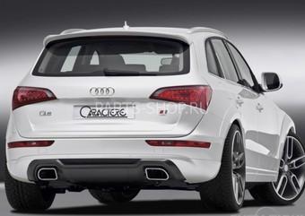 Накладка на заднюю дверь Audi Q5