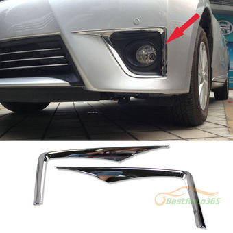 Накладки на противотуманные фары Corolla 2013