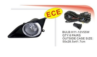 Комплект противотуманных фар для Corolla 08-10