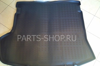 Коврик багажника полиуретановый для Solaris черный