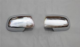 Хромированные накладки на зеркала Corolla  2007-2010