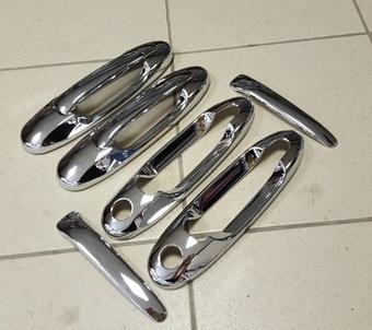 Накладки на ручки LX470 (хром)