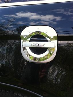 Накладка на люк бензобака cr-v