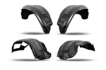 Дополнительные подкрылки с шумоизоляцией lx570 15+ (комплект 4 шт.)