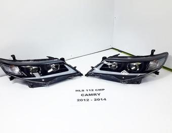 Передние фары camry v50 стиль Lexus