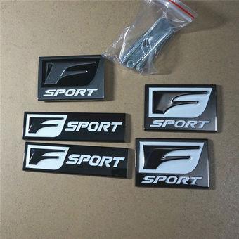 F-Sport эмблема, комплект и по отдельности