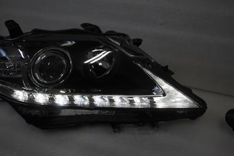 Фары линзовые с бегающим поворотником для RX270/350/RX450h