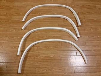 Расширители колесных арок, декоративные для LC200/LX570