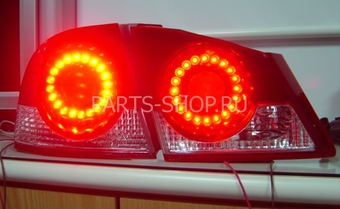 Фонари диодные Civic 4D (комплект)