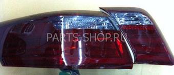 Фонари задние светодиодные-тонирован. Camry40 дизайн Lexus