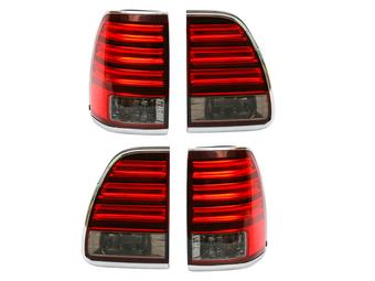Фонари задние красно-тонированные на LX470 светодиодные (02-07 г.г.)