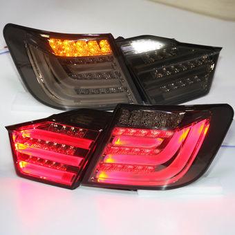 Фонари задние светодиодные стиль BMW затемненные