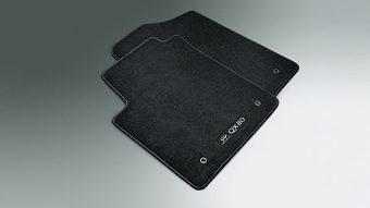 Коврики в салон QX80 2013+ текстильные (черн., беж.)