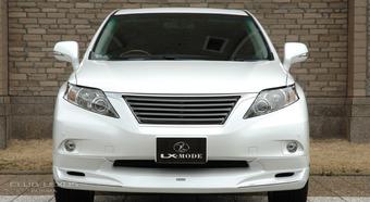 Губа, обвес LX-mode переднего бампера RX 2009-2011