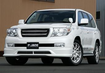 Губа передняя стиль Jaos для LC200