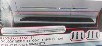 Подножки для prado 150 стиль gx460, усиленные