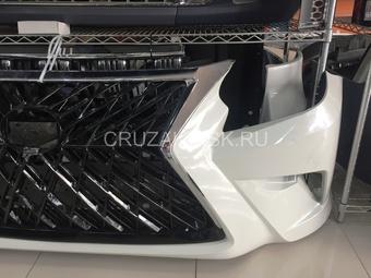 Бампер для gx460 стиль superior TRD