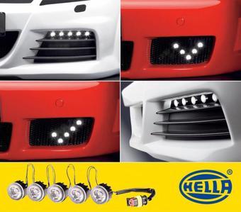 Светодиодные ходовые огни Hella LED DayFlex (6 диодов)