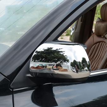 Накладки на зеркала хром Highlander 08-12