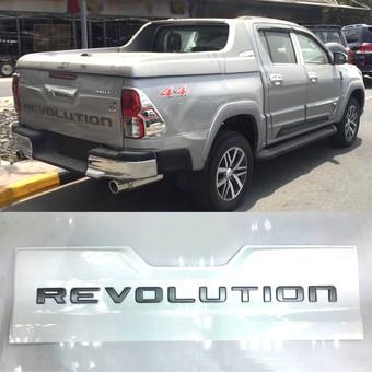 Накладка заднего борта REVOLUTION для Hilux, Revo