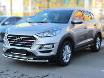 Защита бампера двойная Hyundai Tucson