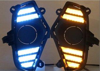 Ходовые огни rav4 XA50 (2 режима)