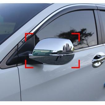 Накладки боковых зеркал Honda CR-V 2013- хром