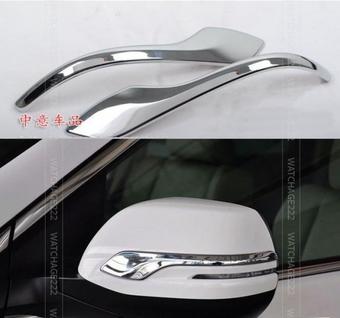 Накладки на зеркала Honda CR-V 2013- хром