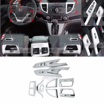 Хромированные накладки в салон Honda CR-V 2013-