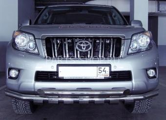Защита передняя двойная с защитой картера LC150