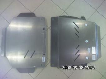 Защита картера двигателя LC200 стальная