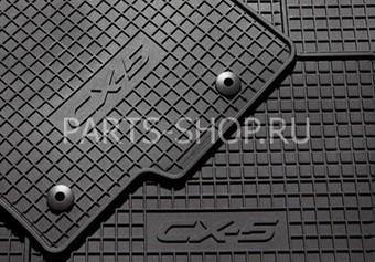 Коврики салона резиновые для Mazda 6