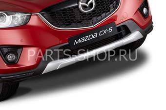 Накладка переднего бампера Mazda CX-5